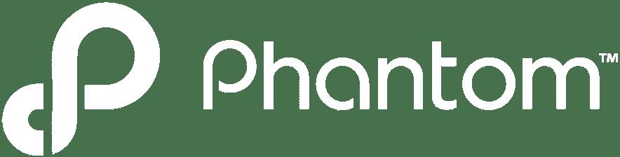 logo phantom white